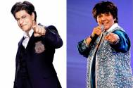 Shah Rukh Khan and Falguni Pathak
