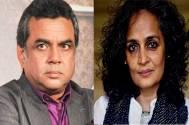Paresh rawal & Arundhati Roy
