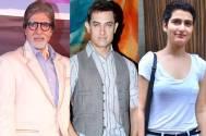 Amitabh Bachchan, Amir Khan & Fatima Shaikh
