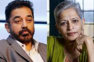 Kamal Haasan & Gauri Lankesh