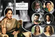 50 celebs in one video: Wishes galore for Hema Malini on 69th birthday