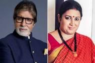 Amitabh Bachchan & Smriti Irani