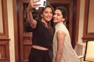 Madhuri Dixit & Deepika Padukone