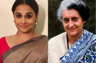 Vidya Balan to impersonate Indira Gandhi on screen