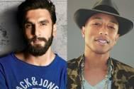 Ranveer's holi bash for Pharrell