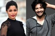 Freida Pinto and Ali Fazal