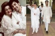 Ranbir Kapoor attends grandmom's last rites thanks to Alia Bhatt