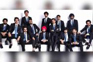 Suited, booted: '83' cast leaves for London