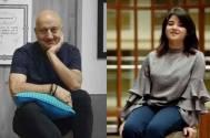 Anupam Kher and Zaira Wasim