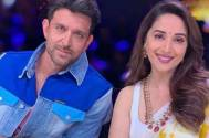 Hrithik aspires to be Madhuri Dixit's hero