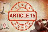 SC refuses to entertain plea against 'Article 15'