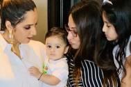 Rakshanda Khan, Sania Mirza and their kids have a gala time