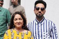 Ayushmann's on-screen mom Neena Gupta stuns in saree