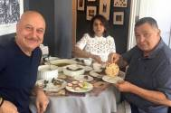 Rishi enjoys perfect 'phulka' at Anupam's home in NY