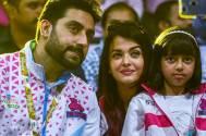 Aishwarya cheers for Abhishek's Pink Panthers