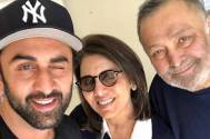 Neetu Kapoor shares a hilarious video of young Rishi Kapoor and Ranbir Kapoor
