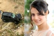 Ameesha Patel clears the air about her car accident news