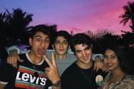 Akshay Kumar's son Aarav and Saif Ali Khan's son Ibrahim Ali Khan's FUN time