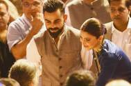 Anushka Sharma holds and kisses Virat Kohli's hand at mention of his late father; the video will melt your heart