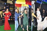 IIFA Awards 2019: Despite rains, stars make a glamorous entry with an umbrella