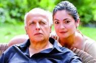 Pooja Bhatt and Mahesh Bhatt