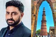 Abhishek shoots for his next at Qutub Minar