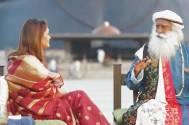 Karan Johar, Ranveer Singh, Kangana Ranut and now Pallavi Joshi catches up with Sadhguru Jaggi Vasudev in an explosive interview