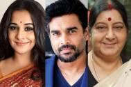 Vidya Balan and R Madhavan to star in Sushma Swaraj biopic?