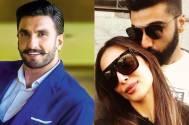 Arjun Kapoor shares selfie with ladylove Malaika Arora; Ranveer Singh leaves a sweet comment