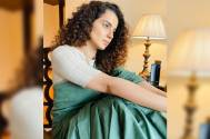 Kangana celebrates Diwali with 'Thalaivi' team in L.A.