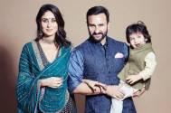 Diwali 2019: Kareena Kapoor, Saif Ali Khan and little nawab Taimur Ali Khan pose for a royal picture
