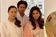 Diwali 2019: Shah Rukh Khan and Gauri Khan twin in white to celebrate the festival of lights