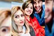 Ranbir Kapoor, Neetu Singh, and Riddhima Kapoor Sahni make for a happy family picture