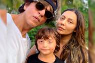 Shah Rukh Khan's wife Gauri Khan shares a family photo; little munchkin AbRam's pose is UNMISSABLE