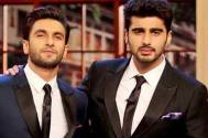 Ranveer Singh and Arjun Kapoor listen to the same song while working out