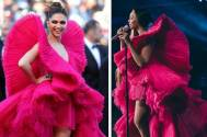 After Beyonce, it's Angelina Joliewho has recreated Deepika Padukone's iconic look from the Cannes