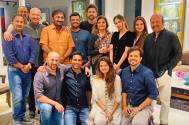 Hrithik Roshan and Anand Kumar celebrate the success of Super 30