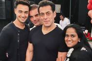 Arpita and Aayush Sharma celebrate their wedding anniversary