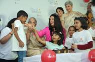 Aishwarya Rai Bachchan Celebrates 'Day of Smiles' With Smile Train India On Her Late Father's Birthday