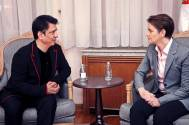 On his recent trip to Serbia, Producer Sajid Nadiadwala meets Serbian PM Ana Brnabić; Cultural exchange on the cards!