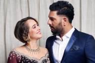 Yuvraj Singh and Hazel Keech celebrate their third WEDDING ANNIVERSARY