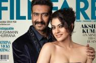 Ajay Devgn and Kajol look gorgeous as they pose for a magazine cover