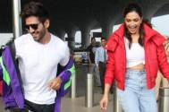 Kartik Aaryan and Deepika Padukone faces the wrath of netizens, gets slammed for taking up Dheeme Dheeme Challenge at the airpor