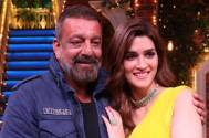 Sanjay Dutt would like to see Panipat co-star Kriti Sanon as his '309th Girlfriend'