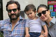 Taimur Ali Khan looks super cute as he poses for a family photo at Pataudi Palace