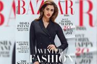 "Disha Patani sets fire on the cover of a leading magazine with her ""boss-lady"" look!"