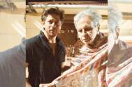 Shah Rukh Khan visits veteran actor Dilip Kumar