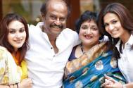 Happy Birthday Rajinikanth: The superstar receives sweet wishes from his daughters Aishwaryaa and Soundarya!