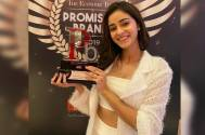 Ananya Panday's 'So Positive' amongst the promising brands won 'Initiative of the year' at the recent awards