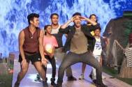 Varun Dhawan dances on First Class with these special kids